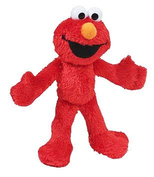 Sesame Street Plush Pal Elmo 8 Inches]()