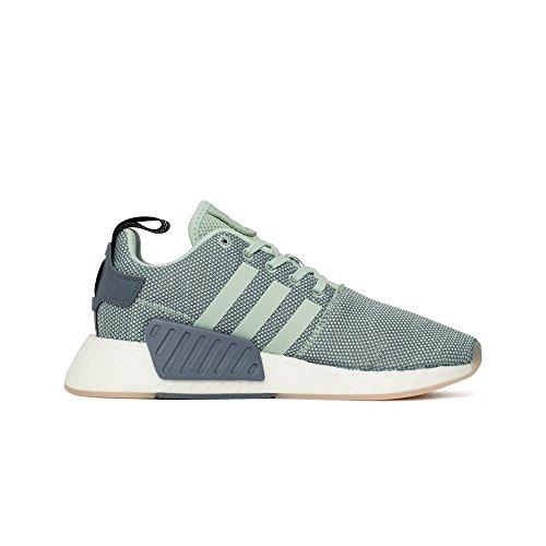 Adidas Originals Nmd_r2 Damen-sneaker Cq2010 Raw Steel Gr. Damen Sneaker Acier Brut 38 (uk 5,0)