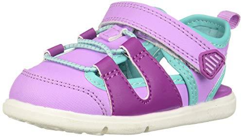(Carter's Every Step Swim Baby Boy's and Girl's Walking Fisherman Sandal Sport, Purple 3.5 M US Infant)