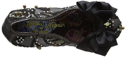 Ascot Mujer Black Multi Negro Tacones Irregular Choice v4wqF51
