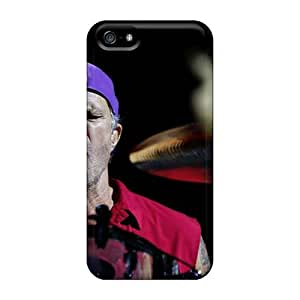 Iphone 5/5s FaY18703nrYH Custom Fashion Red Hot Chili Peppers Series Scratch Resistant Hard Cell-phone Cases -KerryParsons