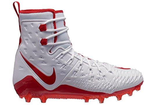 Pictures of NIKE Men's Force Savage Elite TD White/Red 10.5 M US 1