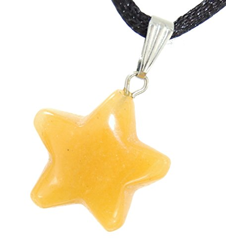 Celestial Collection - 20mm Classic Star Yellow Aventurine (New Jade) - 20