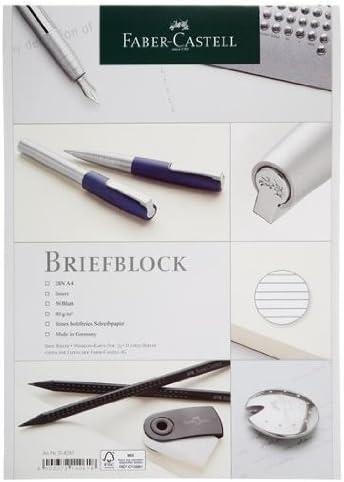 10 Faber Castell Briefblöcke / Schreiblock kariert DIN A4