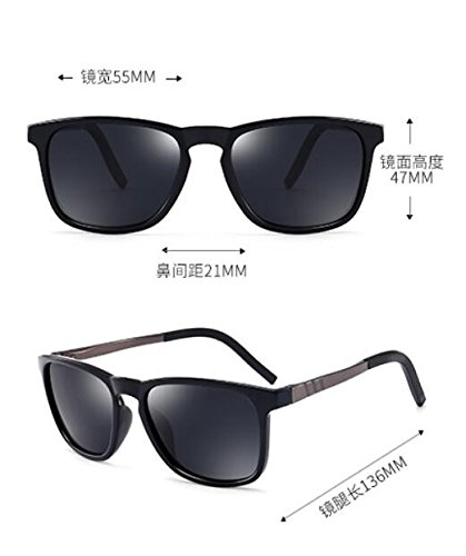 brillante impulsando gafas polariscope Tan la conductor hombre KOMNY pionero Gafas negro pesca gafas macho 7qwxX