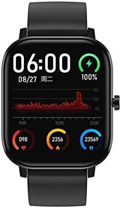 Smartwatch, Armband DT35 Fitness Armband Fitness Tracker Voller Touch Screen Smart Watch Uhr mit Pulsuhren Schrittzähler Armbanduhr Sportuhr für iOS Android (A)