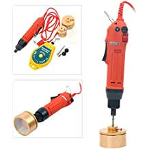 10-50mm 110V Manual Electric Capping Screw Capper Handheld bottle Capping Machine
