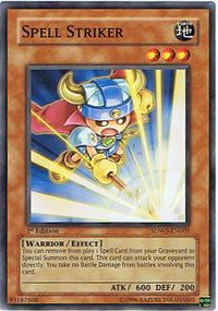 Spell Striker (Yu-Gi-Oh! - Spell Striker (SDWS-EN005) - Structure Deck Warriors Strike - 1st Edition - Common)
