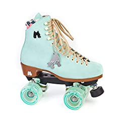 Moxi Lolly Floss Skates are a mid-range lifestyle skate, designed for recreation and street skating. The soft leather boot breaks in quickly with minimal discomfort and forms to your foot more than less expensive synthetic skate boots.