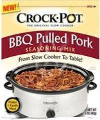 Crock Pot BBQ Pulled Pork Seasoning Mix (1.5 oz Packets) 3 Pack