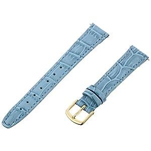 Hadley-Roma Women's Alligator Grain Leather Watch Strap