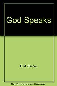Hardcover God speaks Book