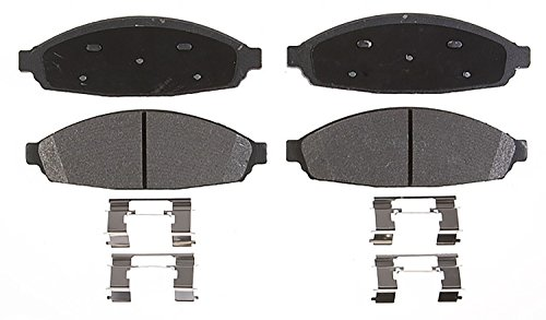 Brake Lincoln Town Car Disc (ACDelco 14D931CH Advantage Ceramic Front Disc Brake Pad Set)