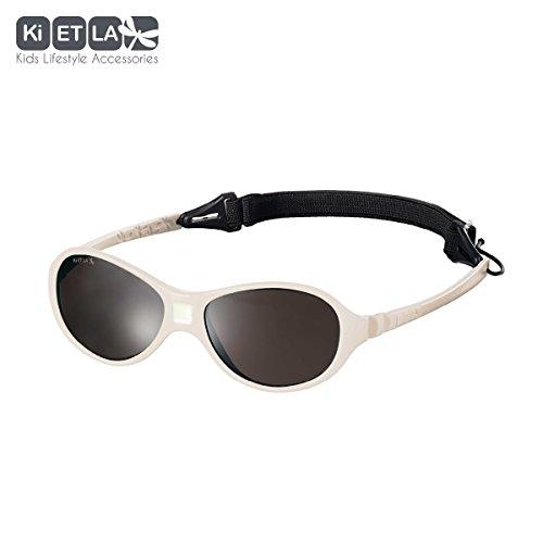 Ki ET LA – Sunglasses for babies Jokaki style – 100% unbreakable – Cream – 12-30 - Spanish For Sunglasses