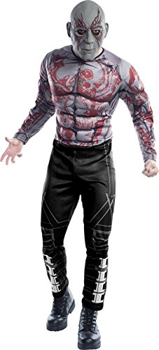 Rubie's Men's Guardians of the Galaxy Drax Costume, Gotg Vol. 2, Standard