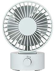 Muji Low Noise USB Desk Fan, Blue