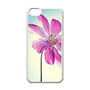 Flower iPhone 5c Cell Phone Case White vkrz