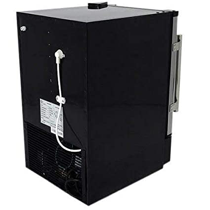EdgeStar IB120SS Built in Ice Maker Stainless Steel and Black 12 lbs