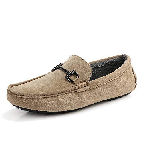 Men's Leather Shoes ByBetty Driving Barca Shoes Fashion Cachi2 Scarpe Shoes da IqfqdTw