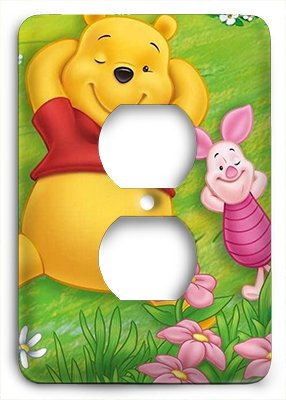 Winnie The Poo Outlet Cover by Outlet Cover