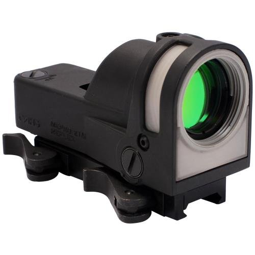 (Meprolight Self-Powered Day/Night Reflex Sight with Dust Cover, Triangle/Reticle)