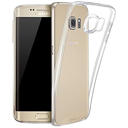 LONVIPI FUNDA Galaxy S6 Edge PLUS Carcasa Transparente Cubierta de Silicona Para Samsung Galaxy S6 Edge PLUS De Ultra Delgado de TPU Estuche Silicona ...