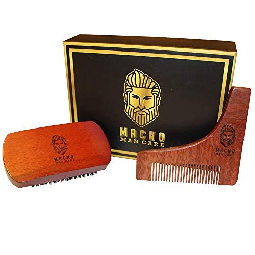 Premium Beard Brush Shaping Care