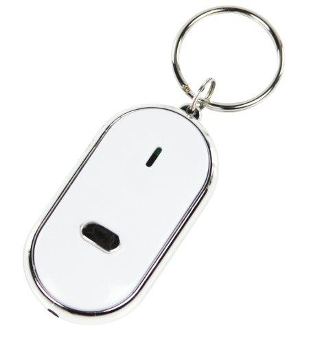 Porte-cl/és siffleur avec lampe led