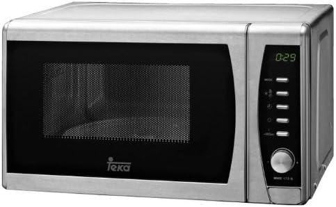 Teka 40590045 - Microondas con grill, acero inoxidable, color gris ...