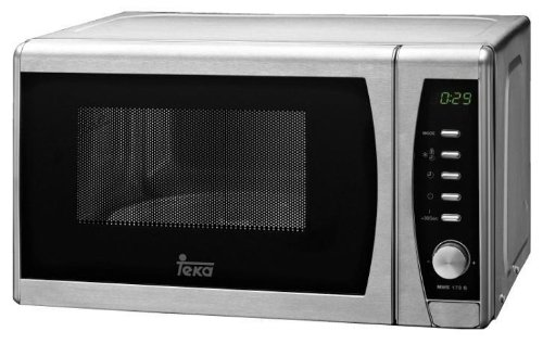Teka 40590045 - Microondas con grill, acero inoxidable, color gris