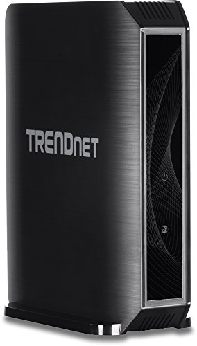 TRENDnet AC1750 Dual Band Wireless AC Gigabit Router, 2.4GHz 450Mbps, 5Ghz 1300Mbps, 2 USB Port, IPv6, TEW-824DRU (Vista Wireless Trendnet)