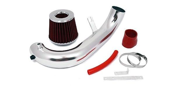 R/&L racing MATT BLACK Short Ram Air Intake Kit RED 96-00 For Civic CX DX LX L4 EJ EK EM Models with 1.6 L4