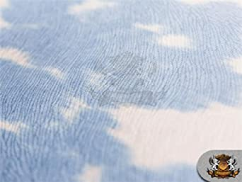 Blue Suede Velvet Fabric Udder Madness Upholstery Cow Print 54 Wide Sold by The Yard