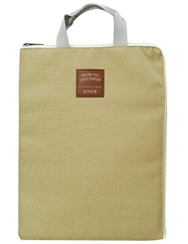 MygreenConvenient A4 Document Organizer Bag Tote Holder iPad Bag Case Waterproof Roomy Bag for Men Women by mygreen
