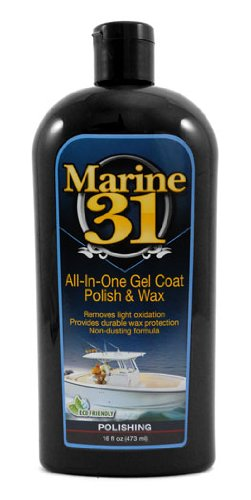 Marine 31 All In One Gel Coat Polish   Wax