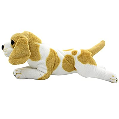 TAGLN Stuffed Animals Dog Toys King Charles Groveling Beagle Dalmatian Rottweiler Plush Pillows 19 Inch (King Charles): Home & Kitchen