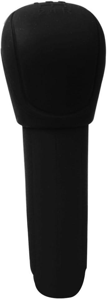 Itimo silicone Car Gear freno a mano della testa pomello copertura del freno a mano Grips car-styling Gear shift Collars Automobiles accessori nero