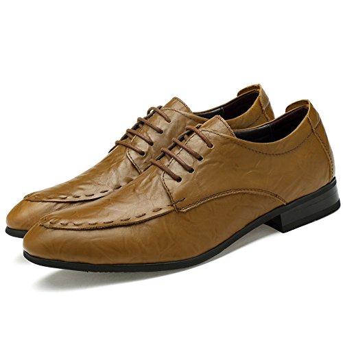 LHLWDGG.K Chaussures Chaussures Officielles Pour Hommes Chaussures De Bureau Pour Hommes De Grande Taille Pour Hommes khaki oVBbt1