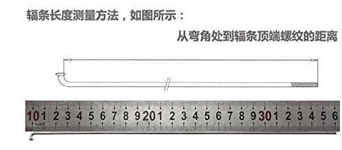 36PCS Stainless Steel Spokes Mountain Bike Spokes MTB 270mm 293mm w/Nipples