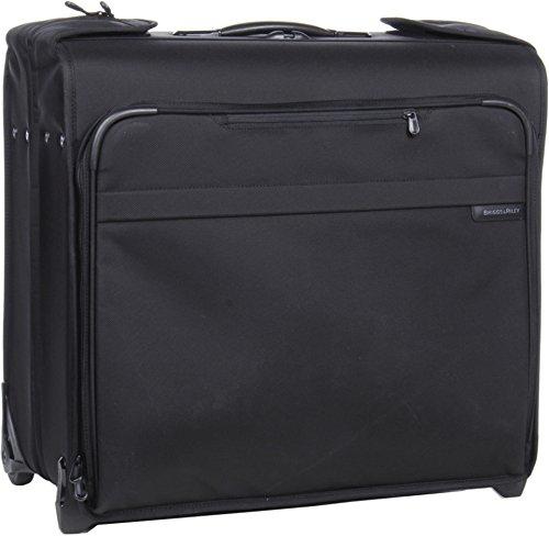 Briggs & Riley Baseline Wheeled Wardrobe Bag, Black, Small