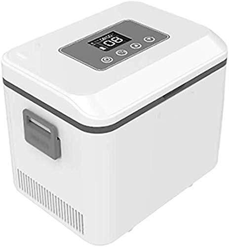 16L 12V DC 220V AC cooling プロフェッショナル個人的な充電式医薬品小型冷蔵庫小型冷蔵庫クーラーインスリン、2-25°Cの冷凍庫薬冷蔵車冷蔵庫、大容量、静かな操作インターフェロン、小型でどこにでも置くことができ、 Small and can be put anywhere