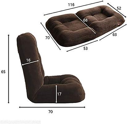 Amazon.com: Easy Padded Floor Chair Foldable Padded Floor ...