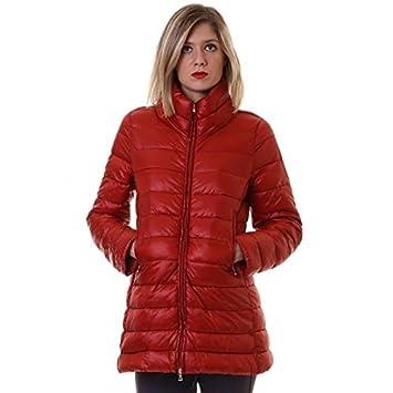 EMME Marella Modele acolchado abrigo mujer, rojo: Amazon.es: Deportes y aire libre