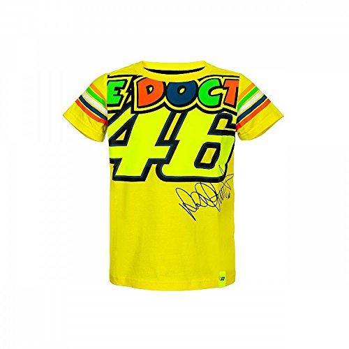 VR46 Bambino Valentino Rossi VRKTS307901004 Bambibo 4-5 Years 69cm//27in Chest Yellow