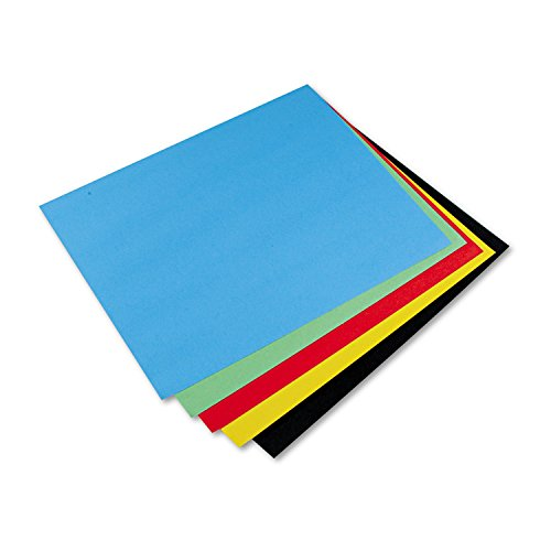 Poster Board Paper (Pacon PAC54871 4-Ply Railroad Board, 10 Assorted Colors, 22