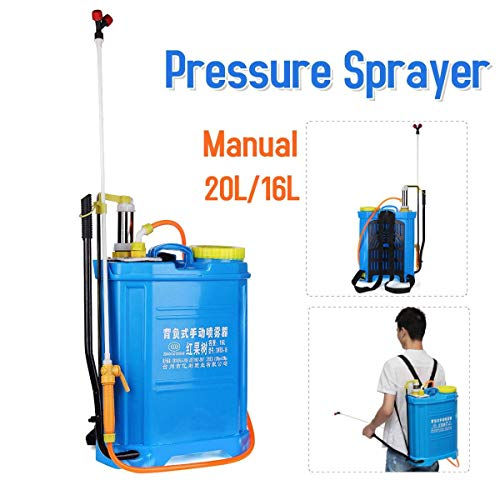- SYH01 1PCS le Pressure Sprayer Knapsack 20L/16L Manual Sprayer Garden Yard W. eed Agriculture Tools