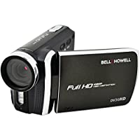 BELL+HOWELL DV30HD-BK 20.0 Megapixel 1080p DV30HD Fun-Flix Slim Camcorder (Black)