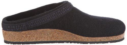 Pantofole Adulto Stegmann 108 Unisex Nere (nero 8802)
