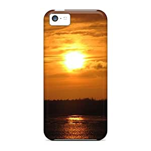 GRleal Case Cover For Iphone 5c - Retailer Packaging Sonnenuntergang Protective Case