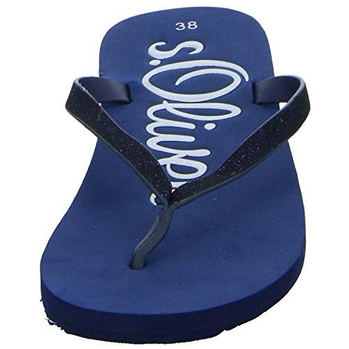 Sandalias Oliver 27122 Blau 5 5 Blau 805 805 s de mujer para plástico 38 tw4x0dHtq